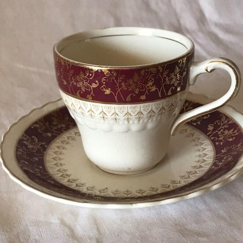Alfred Meakin Tea Set 18 Pieces Modern Design