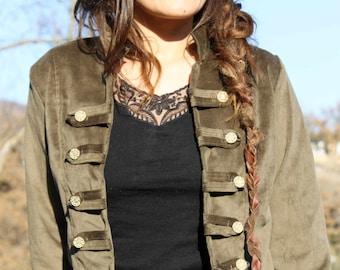 Bolero tipo Pirata- Pirate style bolero jacket-