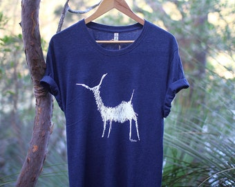 Deer, XL Navy, 100% recycled, organic, ethical