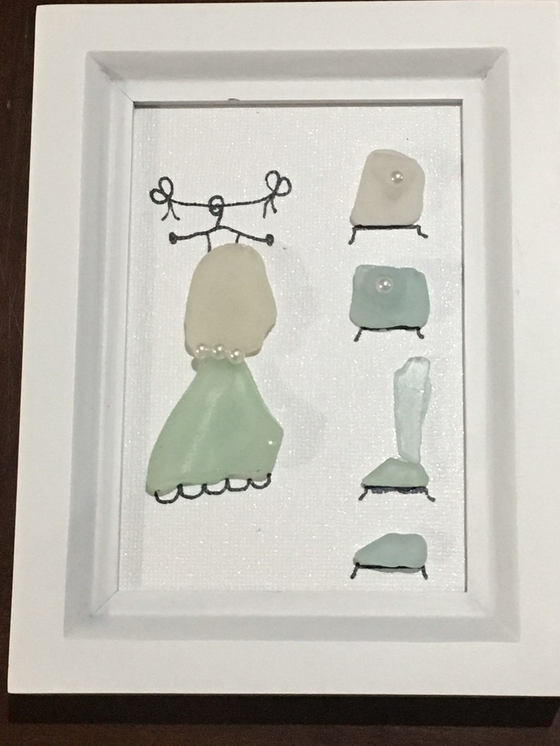fc38ad2400 Sea glass Dressing Wardrobe Beach Inspired picture | Etsy