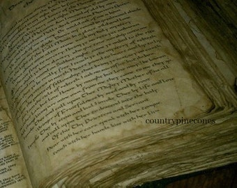 Book of Shadows for THE NEW WITCH Wicca Spells Book of Shadows grimoire Witch book of shadows Journal  old