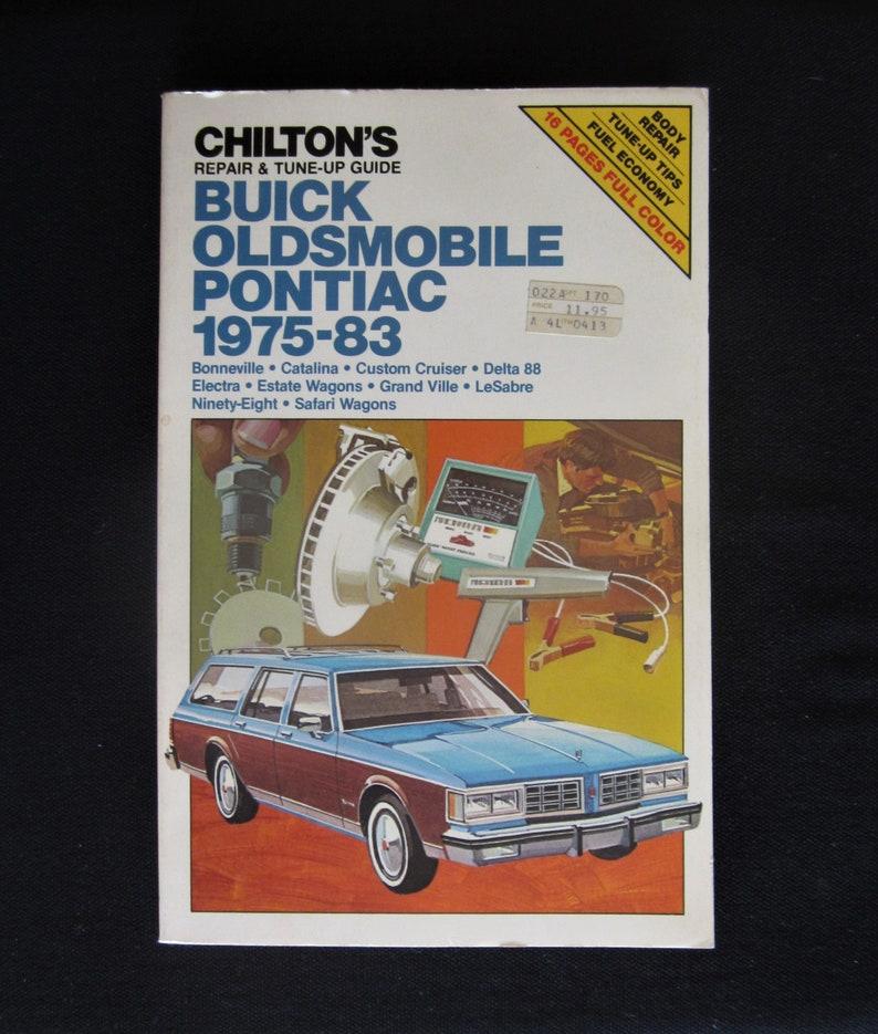 Auto Parts and Vehicles Car & Truck Service & Repair Manuals 1983 ...