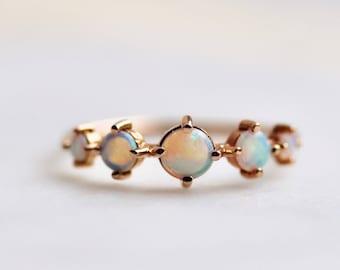 """14K Opal """"Talisman"""" Ring"""