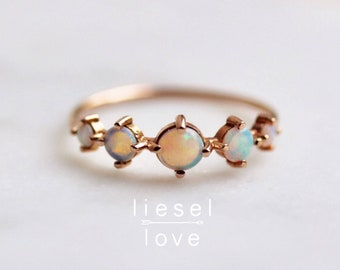 "14K Gold Opal ""Talisman"" Ring"