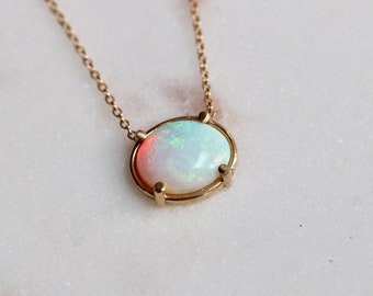 Solid 14K Gold Necklaces