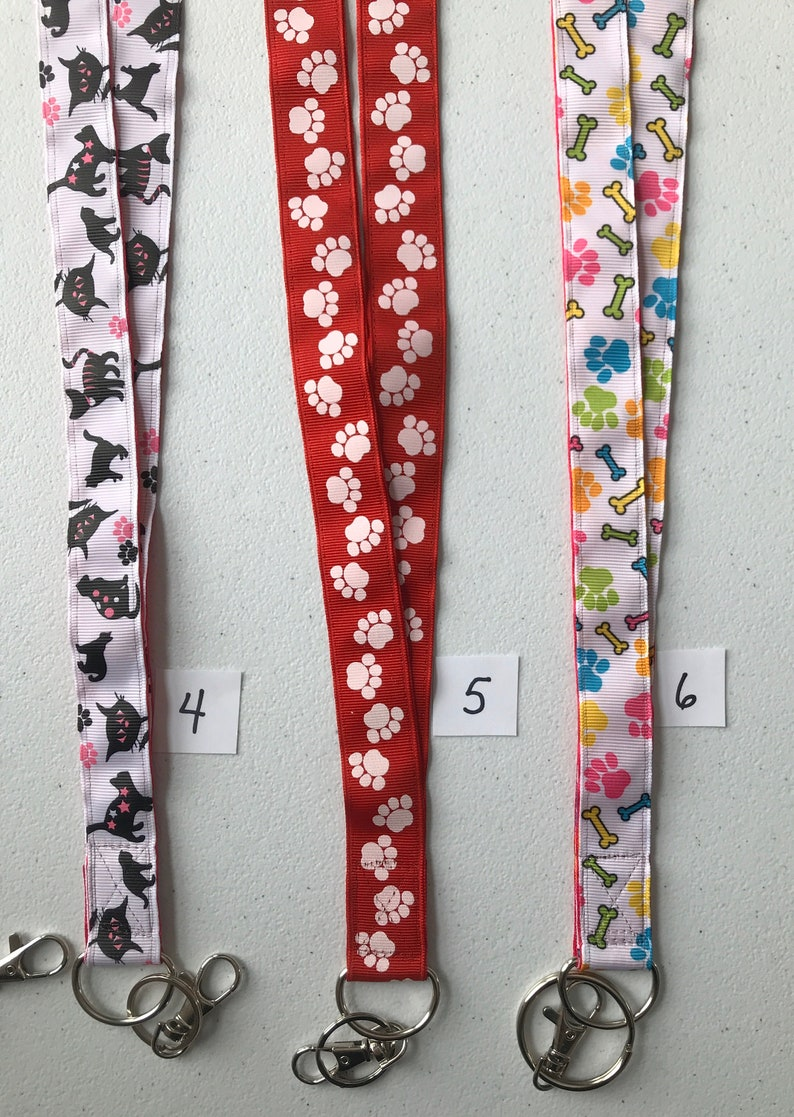 Lanyards for keys or id
