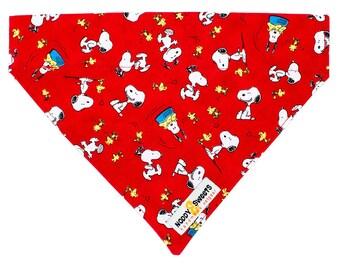 Noddy & Sweets Bandana [Snoopy Oh Joy! Red].