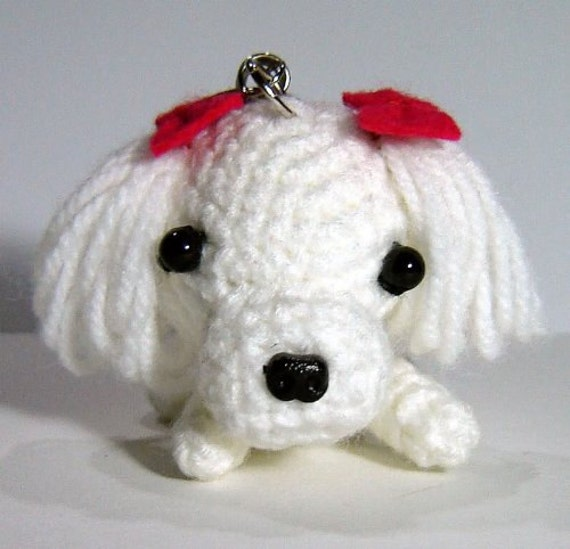 Attempted to crochet a Maltipoo, but it looks like I've ended up ... | 549x570