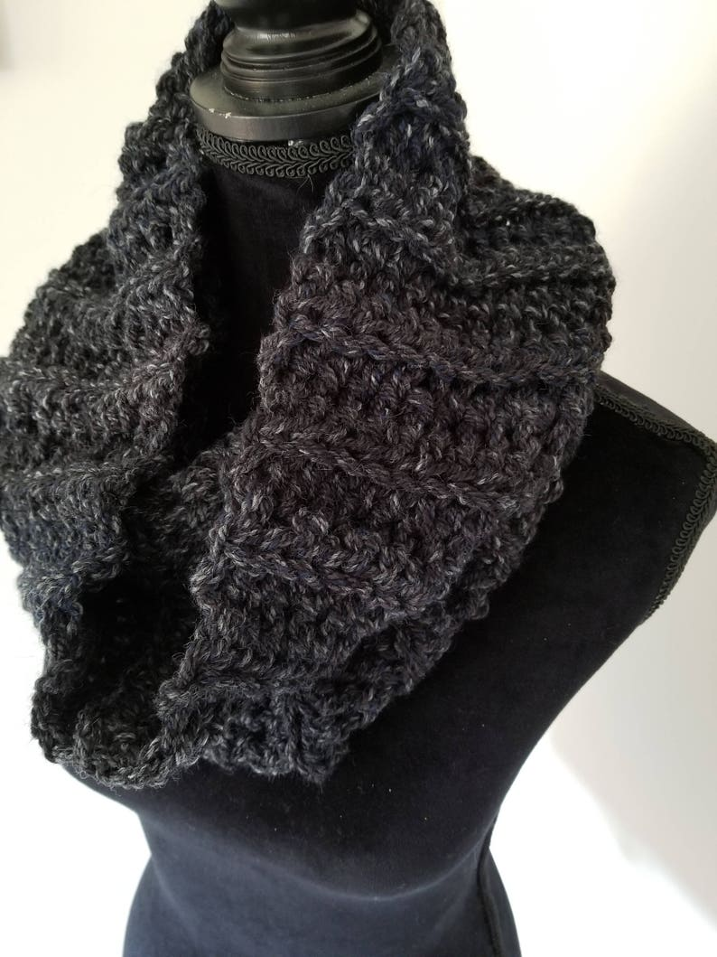 Infinity Scarf  Outlander Inspired Scarf Chunky Scarf Cowl image 0
