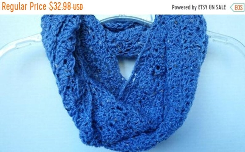 ON SALE Scarf Infinity Cowl  Scarves for Women Circle Scarf image 0