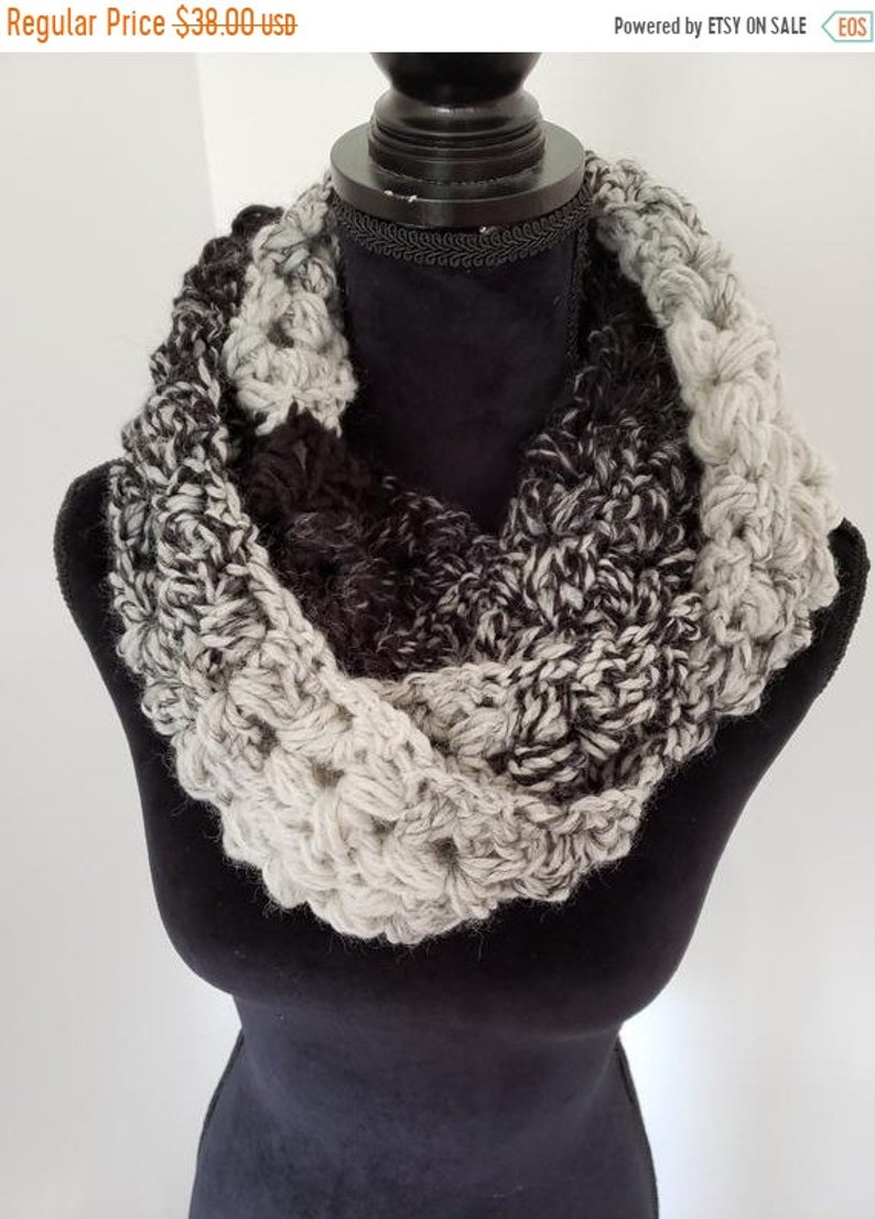 ON SALE Infinity Scarf  Scottish Inspired Scarf Cowl Scarf image 0