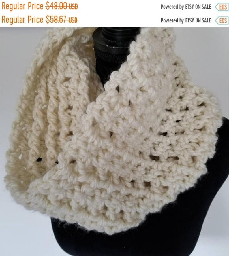 ON SALE Infinity Scarf  Outlander Inspired Scarf Cowl Scarf image 0