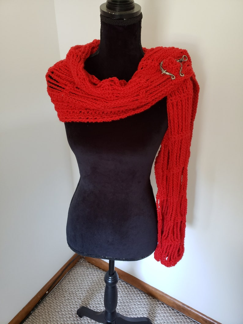 ON SALE Shawl  Lacy Wrap Handmade Shawl Boho wrap Crochet image 0