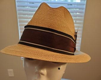 3121e48b9 Milan straw hat | Etsy