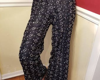 FREE  SHIPPING  1960  Lace Pants with Beads