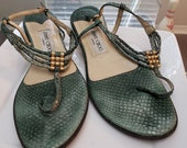 FREE SHIPPING Vintage Jimmy Choo Sandals