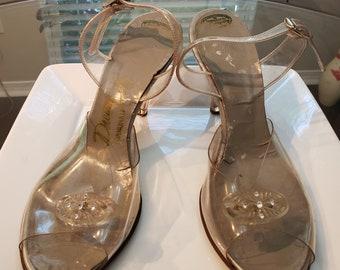 420af5cd741 Lucite heels | Etsy