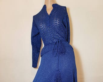 FREE  SHIPPING    1950  Knit  Suit  Set