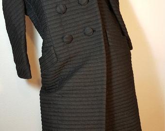 FREE  SHIPPING    Vintage Lilli Ann Wool Coat