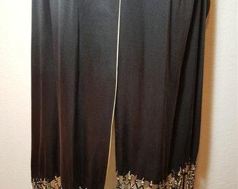 FREE  SHIPPING   Vintage Silk Fringe Shawl