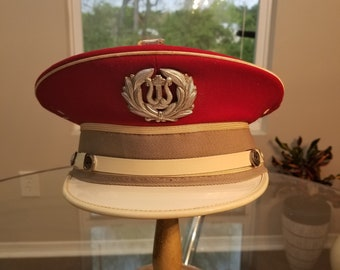 FREE  SHIPPING  Vintage Marching Band HAT