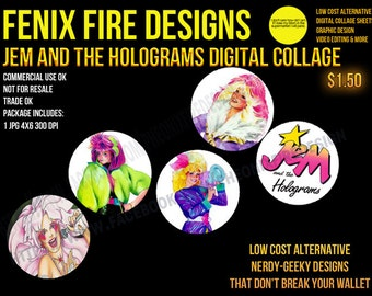 Jem and the Holograms Inspired Images