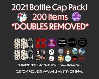 Uber Mega Digital Collage Pack (Bottle Cap Images & More)