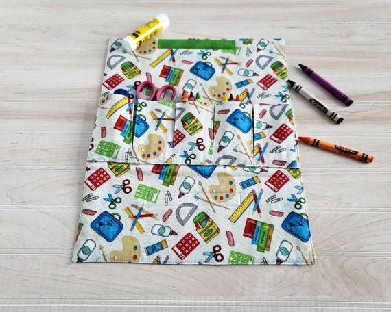 Toy Car Carrier - Child's Craft Wallet - School Time