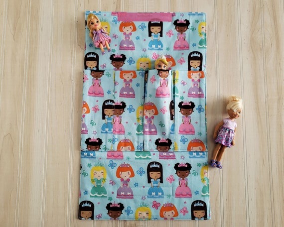 Doll Toy Carrier - Blue Princess