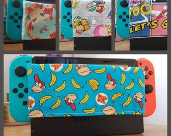 Nintendo Switch dock cover sock. Legend of Zelda Four Swords, Super Mario Bros, Sonic, Donkey Kong, dock sock dock cover switch sock protect
