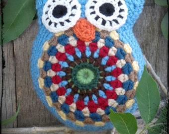 Amigurumi Crochet Owl Free Patterns Instructions | Tricô e crochê ... | 270x340