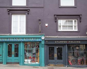Portobello Road Photography - London Print - Notting Hill - Portobello Shop Fronts