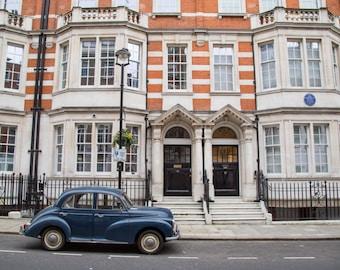 London Photography - Car Photography - Marylebone Street Print
