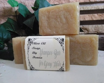 All Natural Olive Oil Shampoo Bar