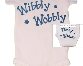 CLOSEOUT, ONLY 12.00!!!, Dr. Who, Baby Bodysuit, Timey Wimey