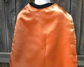 Orange and Green Reversible Cape Aquaman Inspired