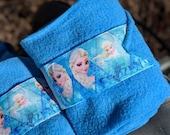 Frozen polo wraps, Princess Elsa inspired, set of two