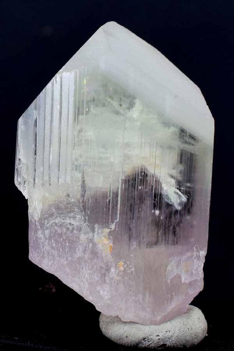 Natural Pink Kunzite Crystal  97 Gram  593726 mm image 0