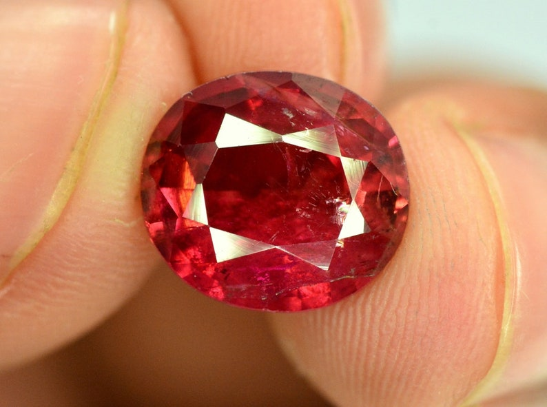 Rubelite Tourmaline Gemstone from Afghanistan  3.70 cts  image 0