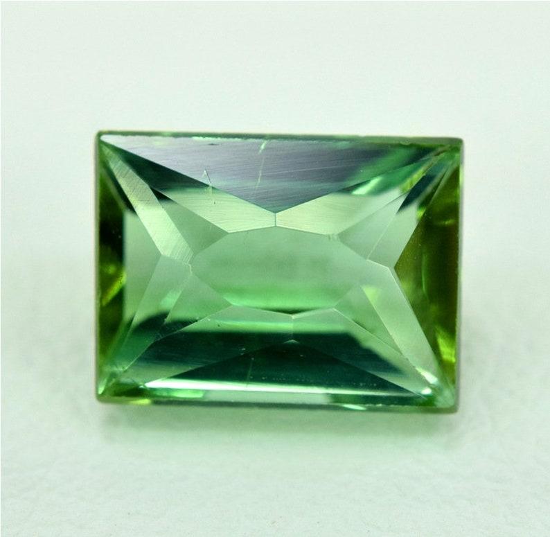 Tourmaline Gemstone  Green Tourmaline from Jaba Mine image 0