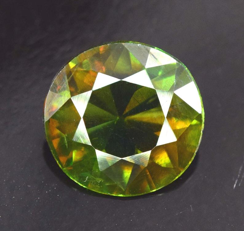 Sphene from Skardu Pakistan  2.20 carats  993 mm image 0