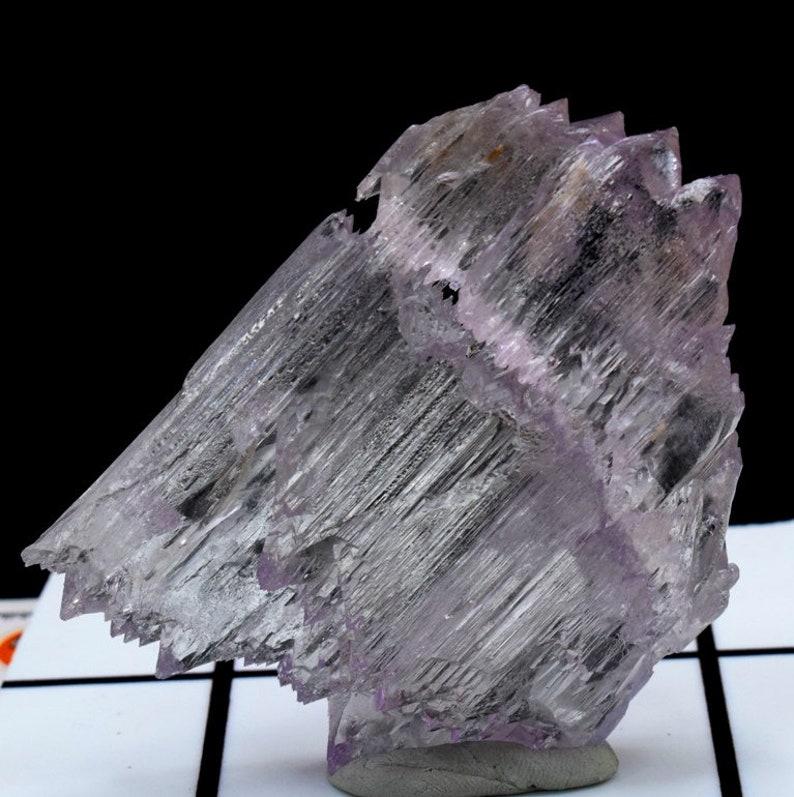 Kunzite Crystal  Damage Free Kunzite Crystal with Complex image 0