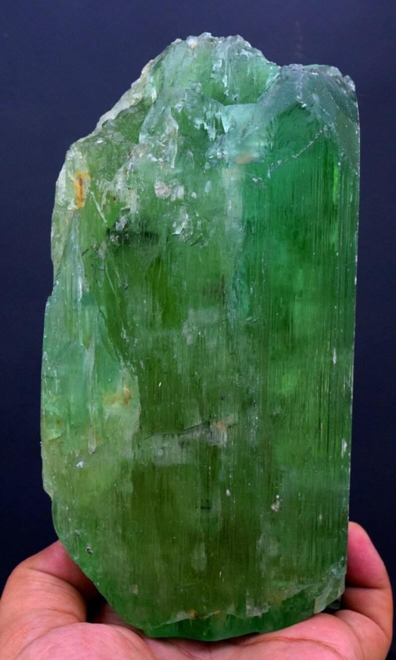 Hiddenite Kunzite Crystal  Jumbo Size Double Terminated & image 0