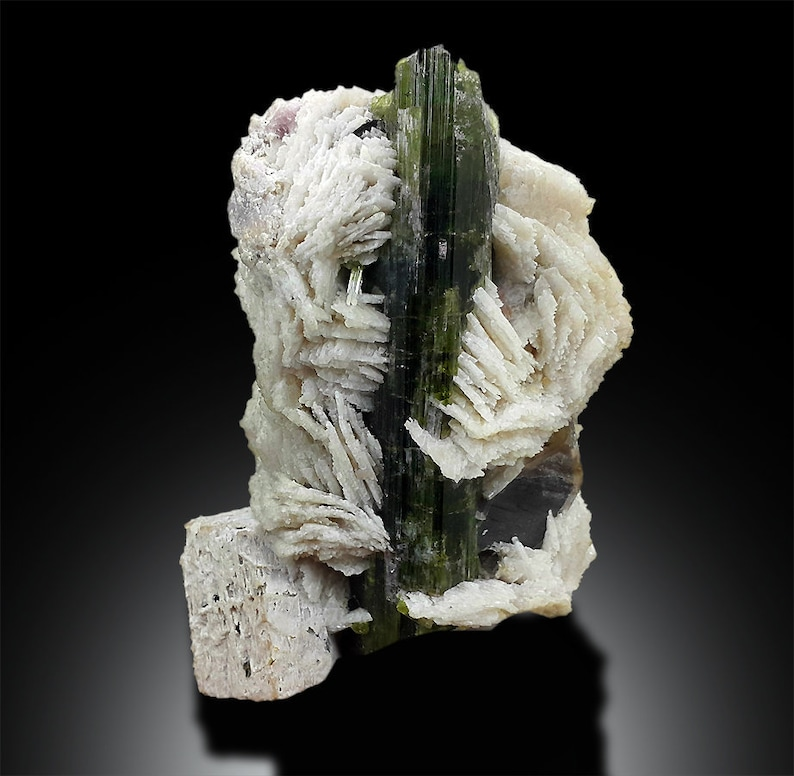 Tourmaline Crystals  Topaz  Smoky Quartz  Albite and image 0