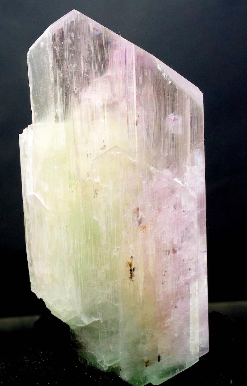 Kunzite Crystal  Top Qualiy Double Terminated & Undamaged image 0