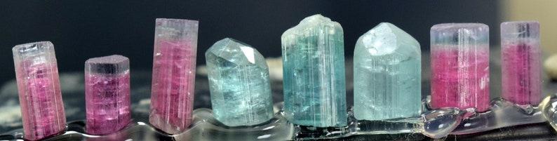 Tourmaline Crystals  Terminated Mixed Color Natural image 0