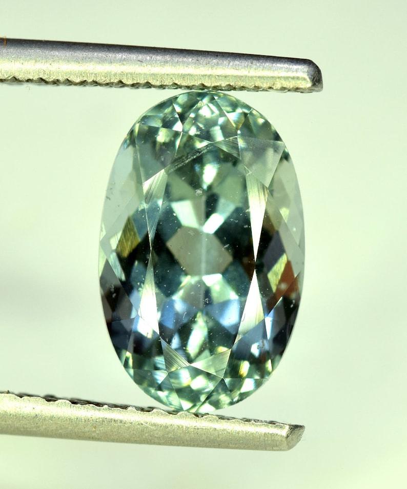 Natural Aquamarine Cut Stone 4.20 cts 13*8*7 mm Aquamarine Gemstone