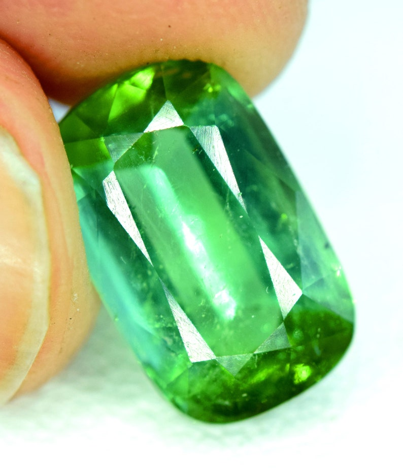 Tourmaline Gemstone from Afghanistan  4.15 carats  1176 mm image 0