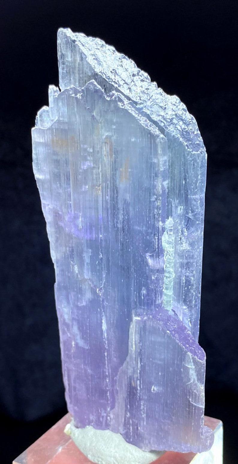 Natural Kunzite Crystal Mineral Specimen from Afghanistan  image 0