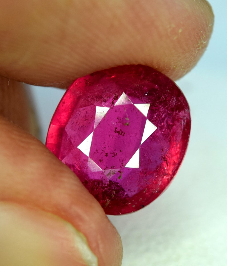 Rubelite Tourmaline Gemstone from Afghanistan  2.80 cts  image 0